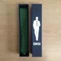 Swish Ties Black Packaging - Durban Tie