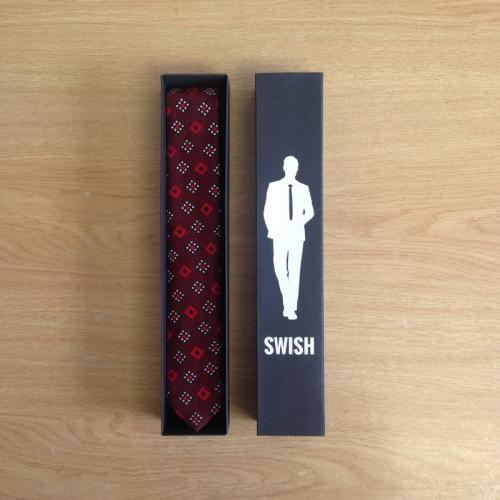 Swish Ties - Tshwane - Black Packaging